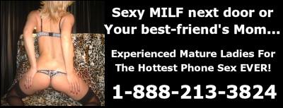 milf phone sex